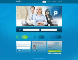 nº 7 pour Design a Website Mockup for BitCoin Website (One Page) par tania06