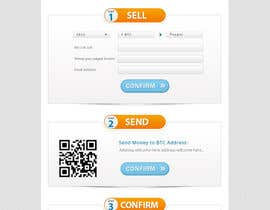 nº 32 pour Design a Website Mockup for BitCoin Website (One Page) par atularora