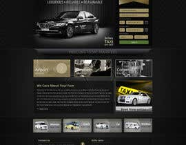 #66 para Design a Website Mockup for VIP Taxi Transfers por alpyraj81