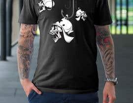 Nro 32 kilpailuun Design a skull/fishing T-Shirt käyttäjältä hiteshtalpada255