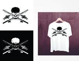 Nro 12 kilpailuun Design a skull/fishing T-Shirt käyttäjältä valgonx