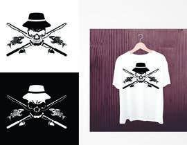 Nro 13 kilpailuun Design a skull/fishing T-Shirt käyttäjältä valgonx