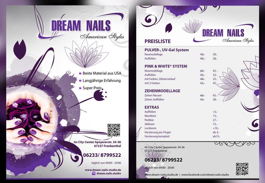 Inscrição nº 49 do Concurso para I need some Graphic Design for Nails Studio