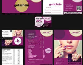 nº 48 pour I need some Graphic Design for Nails Studio par CBDesigns101
