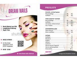 nº 11 pour I need some Graphic Design for Nails Studio par ezesol