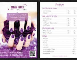 nº 42 pour I need some Graphic Design for Nails Studio par VrushaliSingh