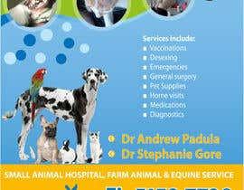 #28 pentru Graphic Design for Bairnsdale Animal Hospital de către wantnewjob