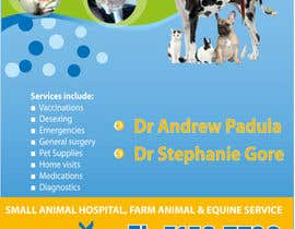 nº 10 pour Graphic Design for Bairnsdale Animal Hospital par wantnewjob