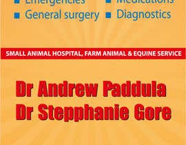 nº 33 pour Graphic Design for Bairnsdale Animal Hospital par wantnewjob