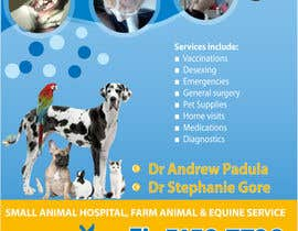 #29 untuk Graphic Design for Bairnsdale Animal Hospital oleh wantnewjob