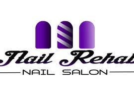 Nro 66 kilpailuun nail salon logo käyttäjältä Rhandyv