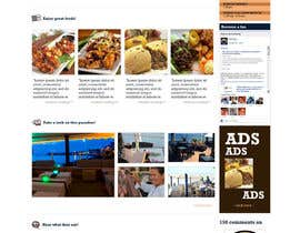 #34 cho Web site mockup for restaurant and bar ( small site ) bởi santosrodelio