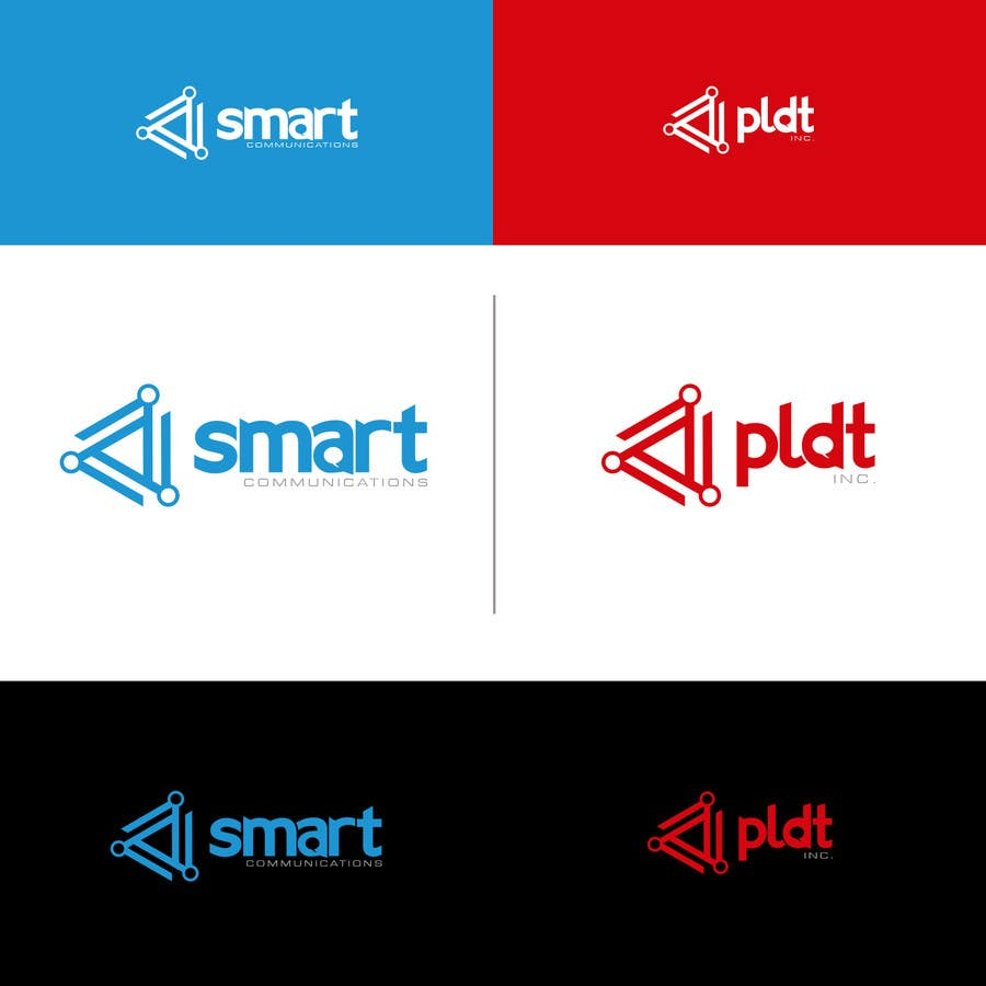 Konkurrenceindlæg #303 for Redesign SMART Communications & PLDT's Logos! #ANewerDay