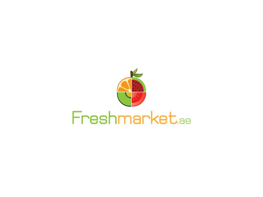 design a logo for fruit and vegetable delivery business