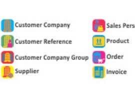 Nro 11 kilpailuun Icon design for Windows application käyttäjältä fastdelivery2