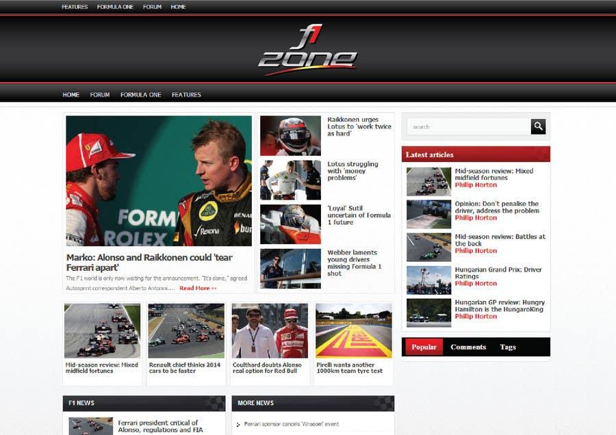 Inscrição nº 27 do Concurso para Design a Logo for motorsports website