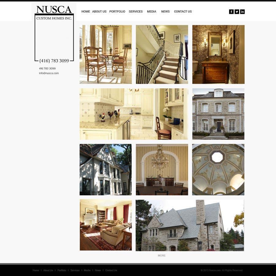 Inscrição nº 3 do Concurso para Custom Portfolio Website Design
