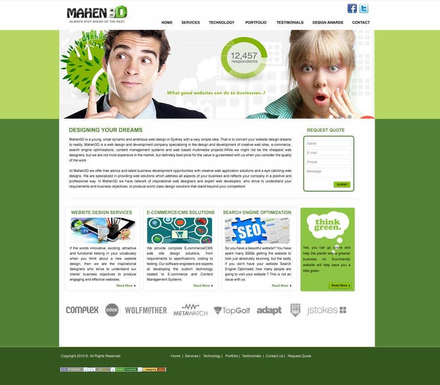 #41 for Custom Portfolio Website Design by sumit041243cse