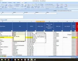 janerosesanchez tarafından Excel document - merging 2 documents and adding some functions için no 2