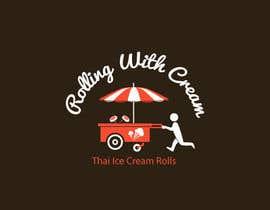 jaywdesign tarafından Design a Logo For Rolling With Cream için no 13