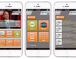 #7 for Design the User interface for a Mobile News App af sharpBD