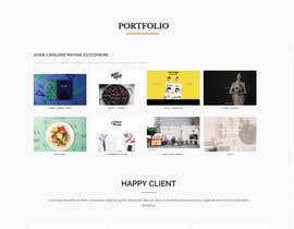 Nro 8 kilpailuun Design a Website Mockup käyttäjältä Amit2307