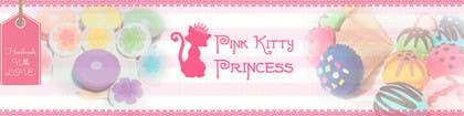 bogooxi tarafından Develop a Brand Identity for Pink Kitty Princess on ETSY için no 170