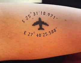 Nro 4 kilpailuun Small Tattoo design (coordinates) käyttäjältä happyrich
