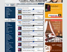 nº 11 pour Update Website Design par aaronn99