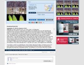 nº 21 pour Update Website Design par abhij33td3sai