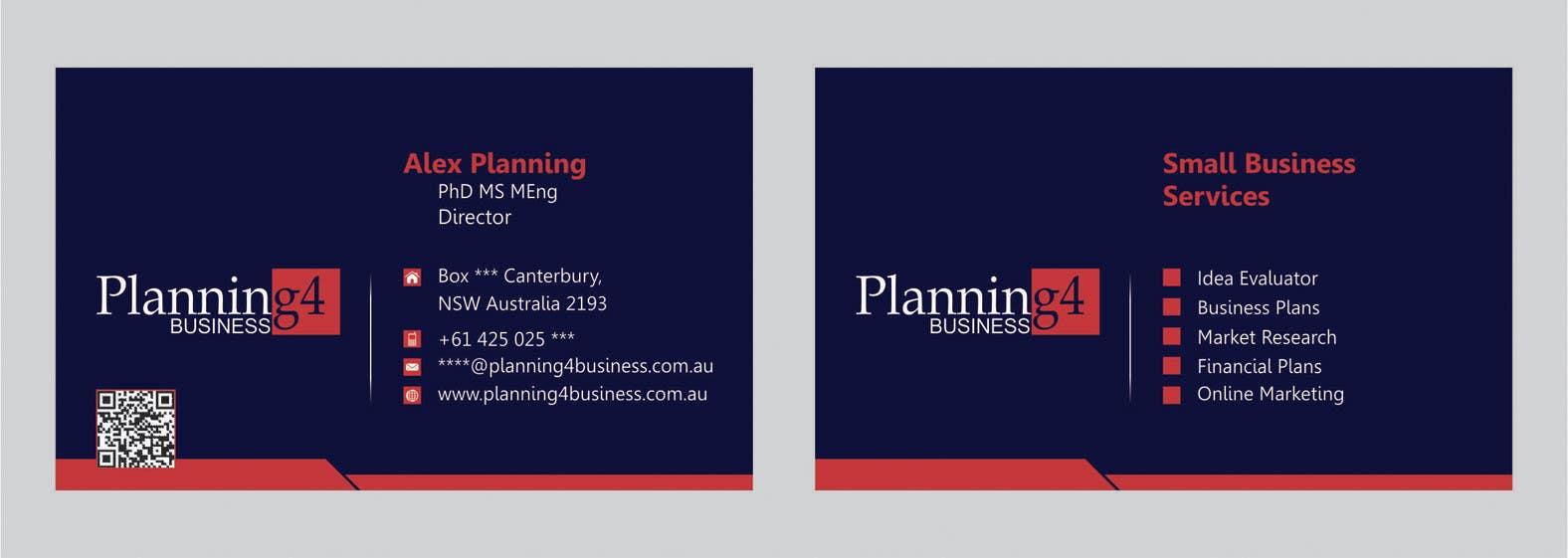 Penyertaan Peraduan #31 untuk Design some Business Cards for a business consultant