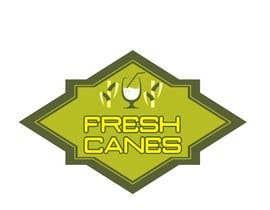 Nro 62 kilpailuun Design a Logo for Fresh Canes! käyttäjältä shobbypillai