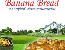 #86 cho Banana bread packaging label design bởi Gonherdesign