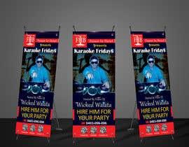 mohosinmiah0122 tarafından Design my artwork for a dj/karaoke banner için no 33