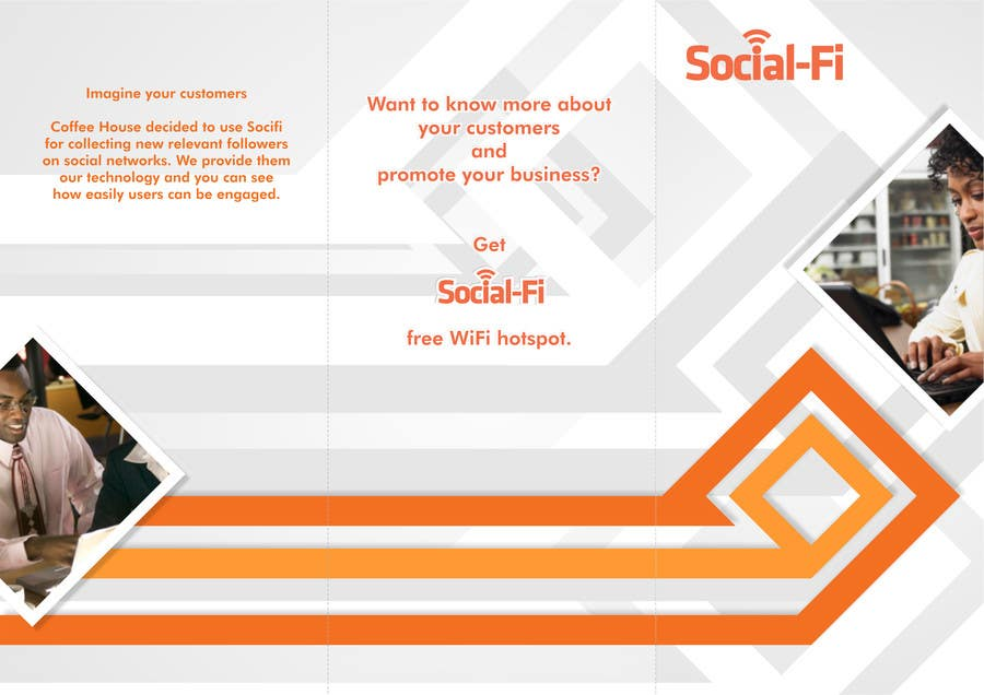 #5 for 48 Hour Design Flyer for Social Wi-fi by doarnora
