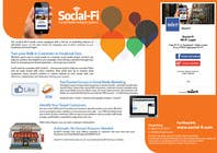 #38 for 48 Hour Design Flyer for Social Wi-fi by Keria