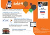#40 for 48 Hour Design Flyer for Social Wi-fi by Keria