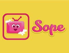 pratikshakawle17 tarafından Design a logo for Sope - a social TV app! için no 22