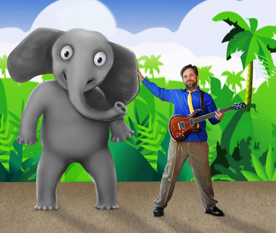 #100 for Edit/create picture background for kids' music performer by subirdutta84