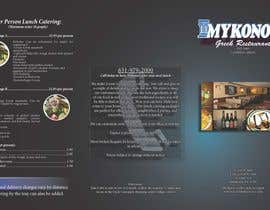 #3 untuk Design a Catering Menu for Mykonos Greek Restaurant oleh NewmarWegner2103