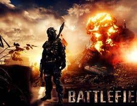 Nro 6 kilpailuun Battlefield Logo for youtube Channel käyttäjältä dreamknight117