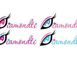 Nro 23 kilpailuun Logo for Eyelashes brand/site käyttäjältä AdrianaCota