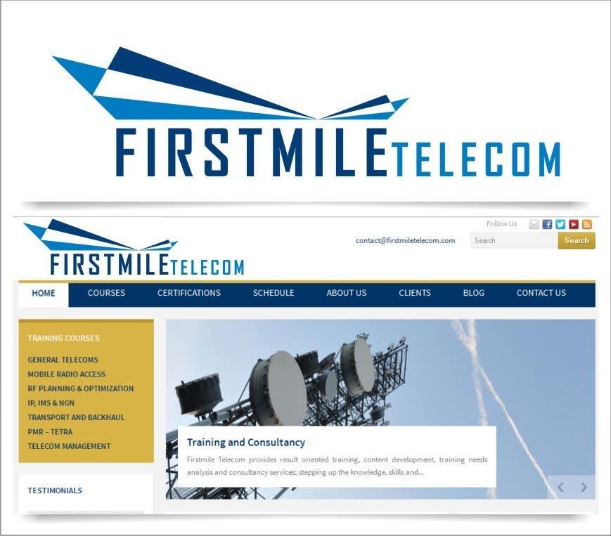 Konkurrenceindlæg #292 for Design a Logo for Firstmile Telecom