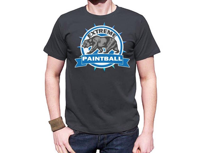 Bài tham dự cuộc thi #56 cho Design a T-Shirt for Extreme Paintball