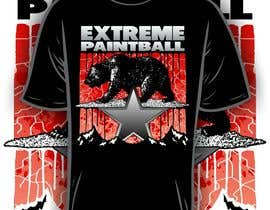 nº 38 pour Design a T-Shirt for Extreme Paintball par iYNKBRANE