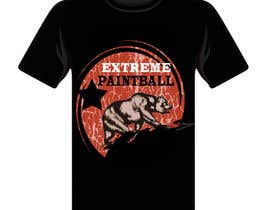 #44 for Design a T-Shirt for Extreme Paintball by cdinesh008