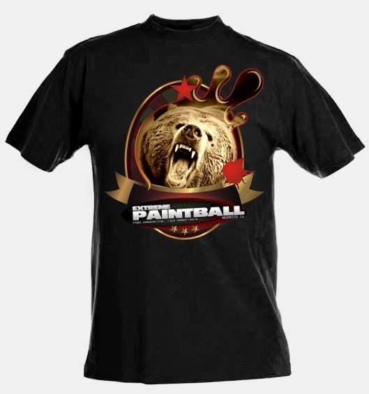 Bài tham dự cuộc thi #9 cho Design a T-Shirt for Extreme Paintball