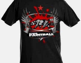 nº 37 pour Design a T-Shirt for Extreme Paintball par mestyl