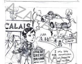 Nro 3 kilpailuun Armchair General Cartoon käyttäjältä AZapanta