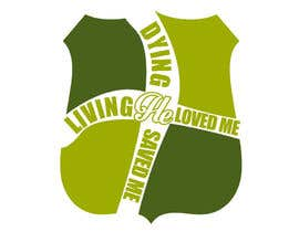 #4 para Design a T-Shirt for Live it 712 (Living he loved me) por benjuuur
